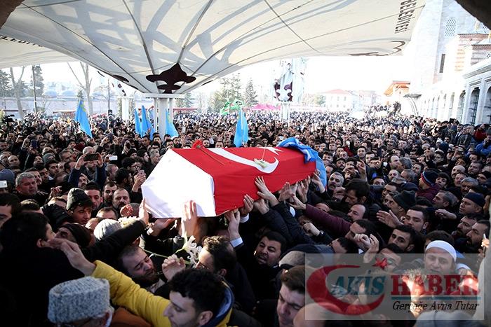 Türkmendağı Şehidi dualarla uğurlandı 4