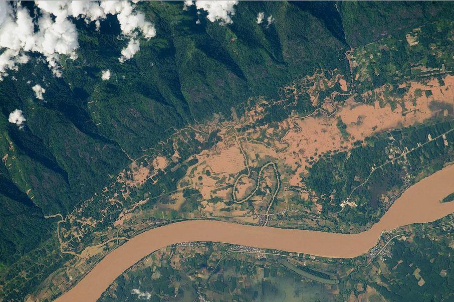 Uzaydan çekilen En İyi 15 Yeryüzü Fotoğrafı 3