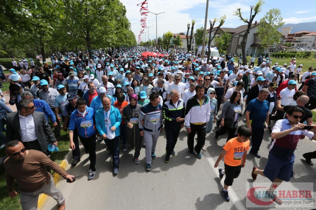 Merkezefendi'de Binlerce Kişi Yürüdü 14