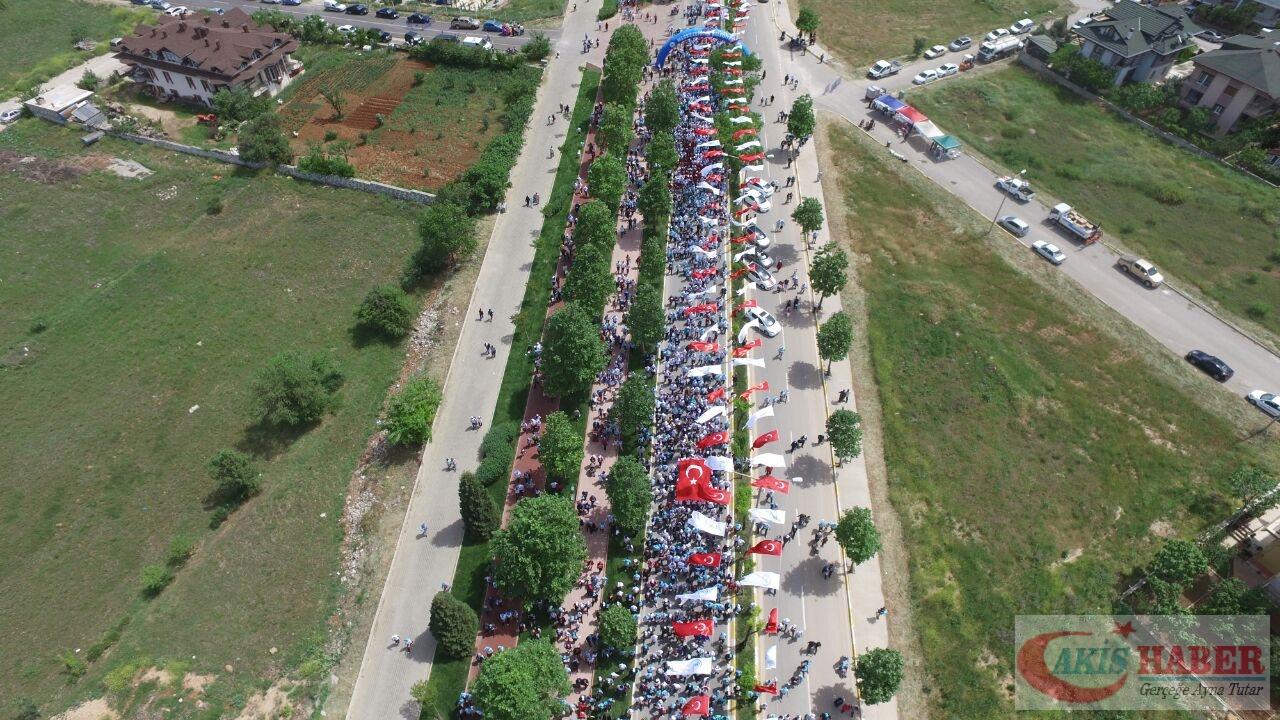 Merkezefendi'de Binlerce Kişi Yürüdü 55