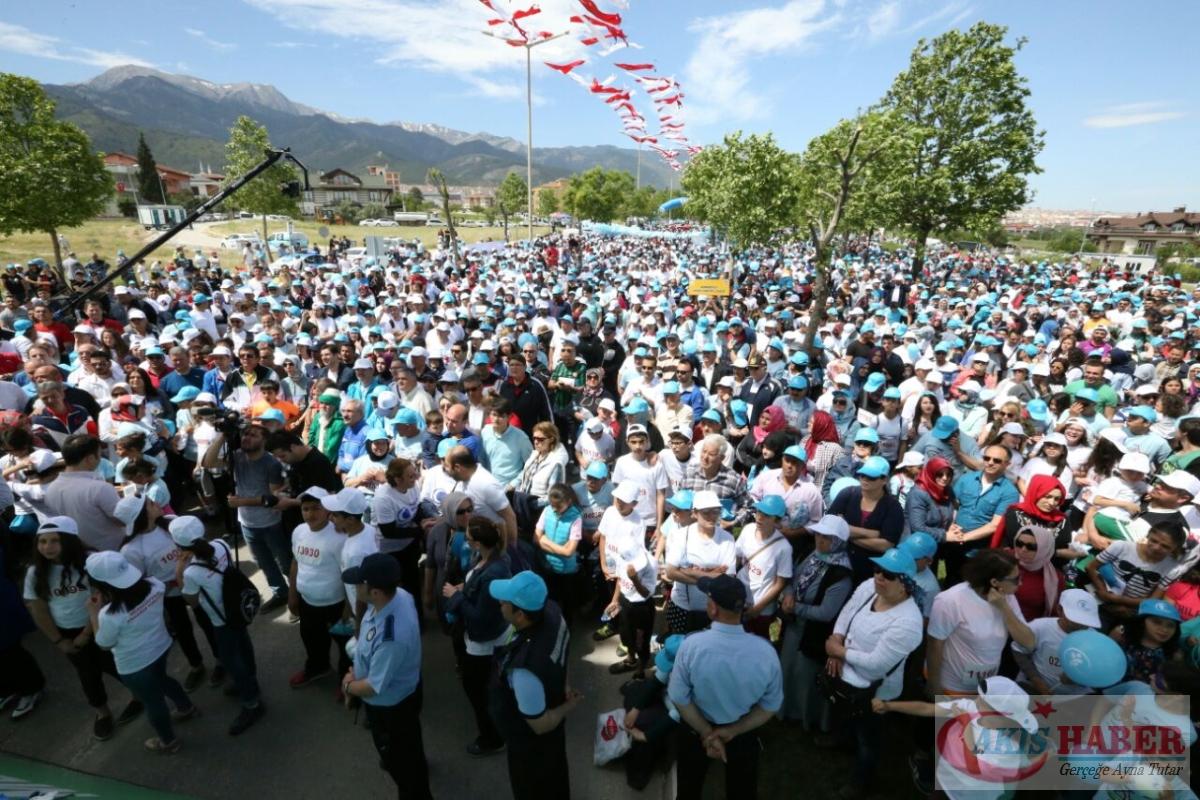 Merkezefendi'de Binlerce Kişi Yürüdü 80