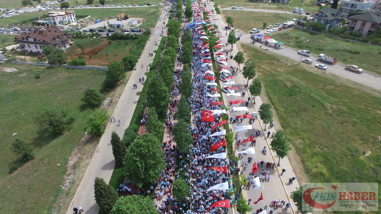 Merkezefendi'de Binlerce Kişi Yürüdü 94