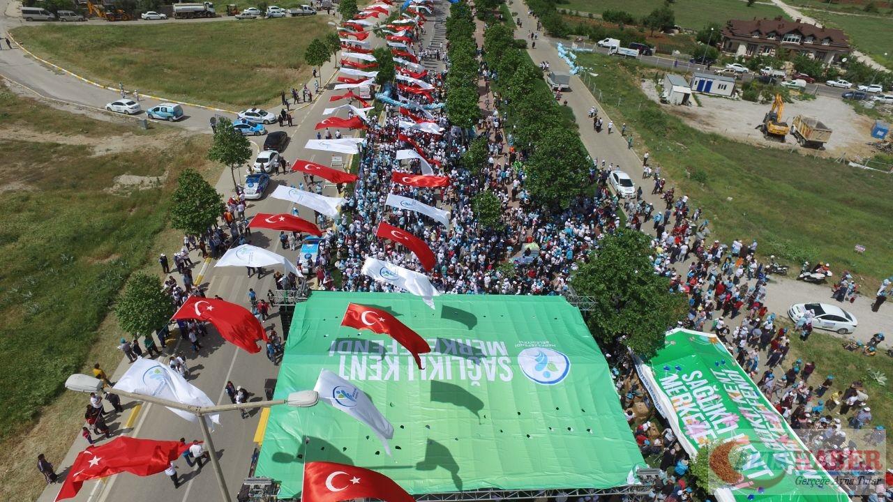 Merkezefendi'de Binlerce Kişi Yürüdü 95