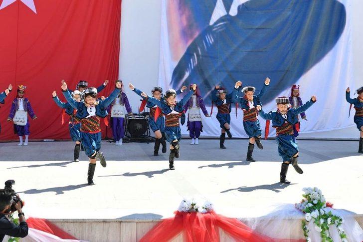 Denizli'de 23 Nisan coşkusu ve kutlamalar 4