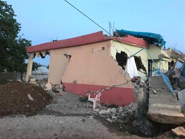 Adıyaman'daki depremden ilk fotoğraflar 12