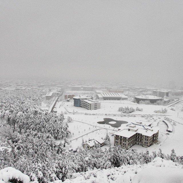 Denizli'den kar manzaraları 14