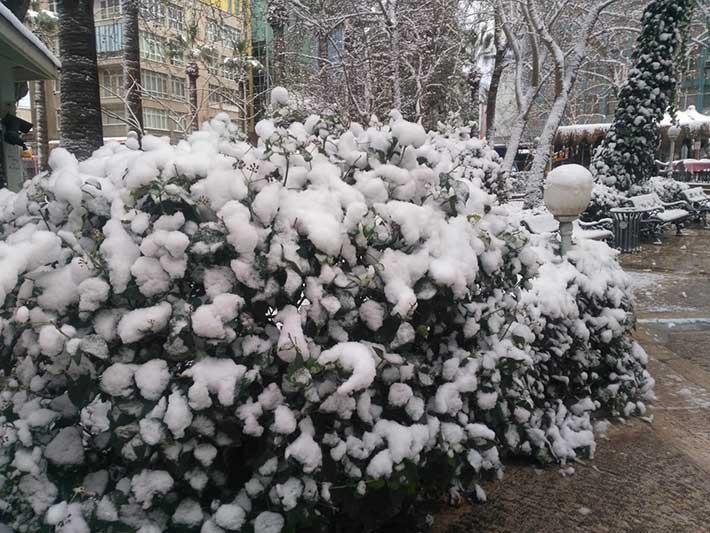 Denizli'den kar manzaraları 6