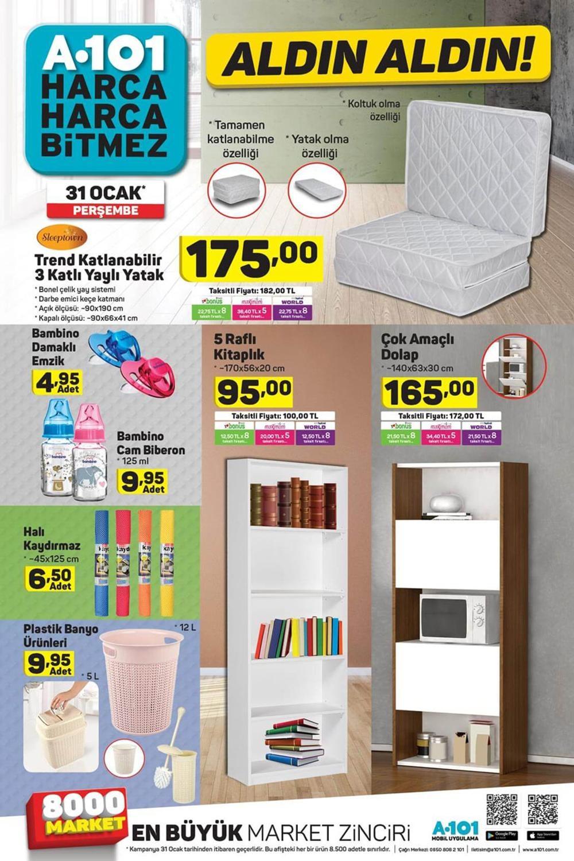 A101 31 Ocak Aktüel Ürünler Kataloğu Haftanın Fırsatları 4