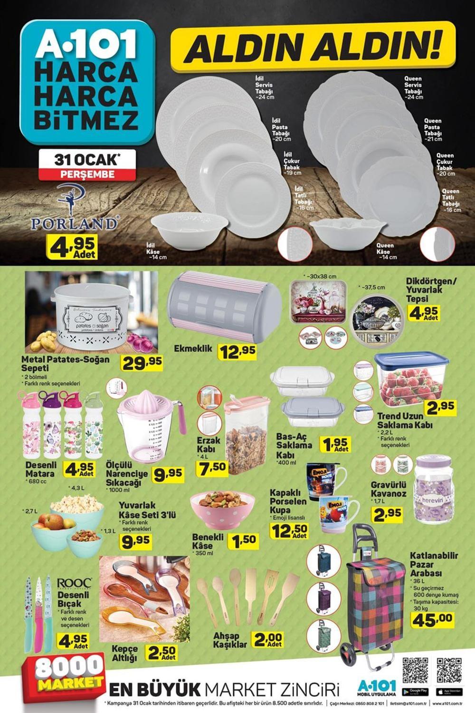A101 31 Ocak Aktüel Ürünler Kataloğu Haftanın Fırsatları 5
