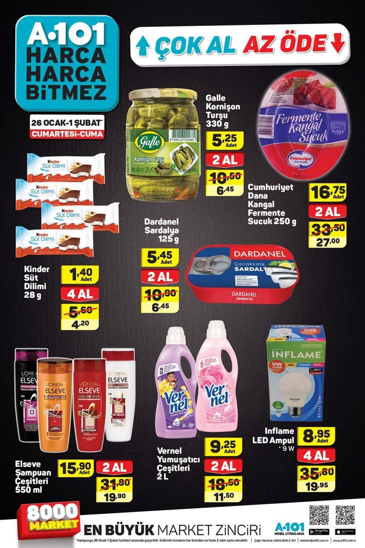 A101 31 Ocak Aktüel Ürünler Kataloğu Haftanın Fırsatları 8
