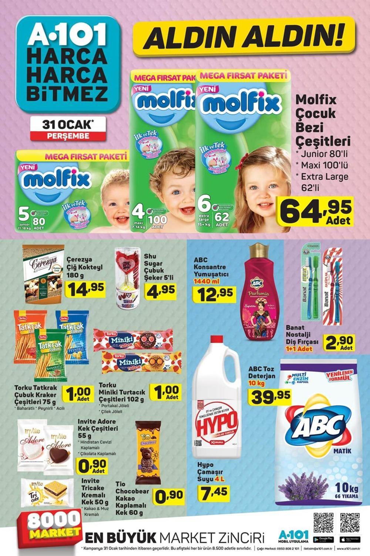A101 31 Ocak Aktüel Ürünler Kataloğu Haftanın Fırsatları 9