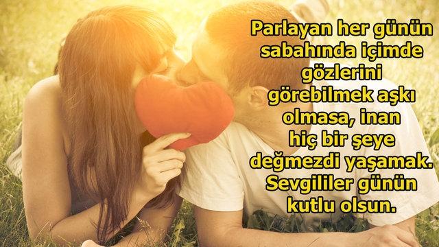 14 Şubat Sevgililer Günü Resimli Romantik Mesajlar 10