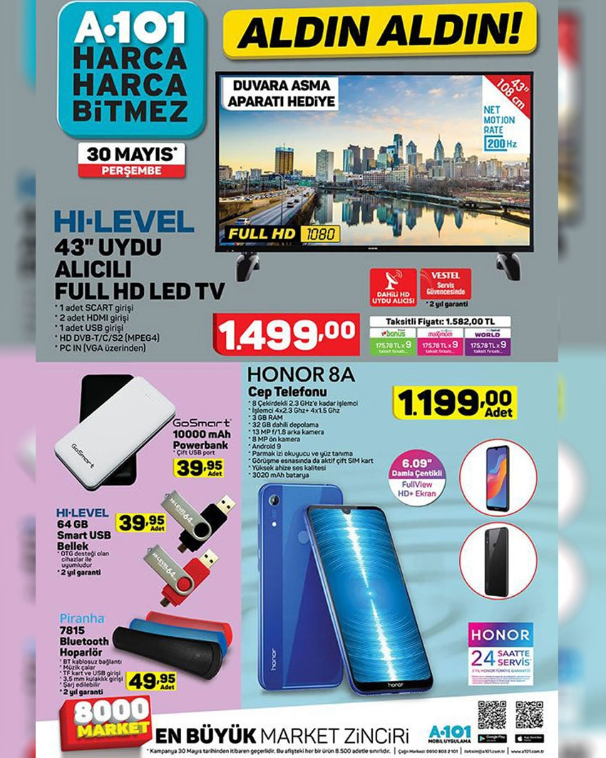 A101 30 Mayıs 2019 Aktüel Ürünler Kataloğu İndirimli Ürünler 1