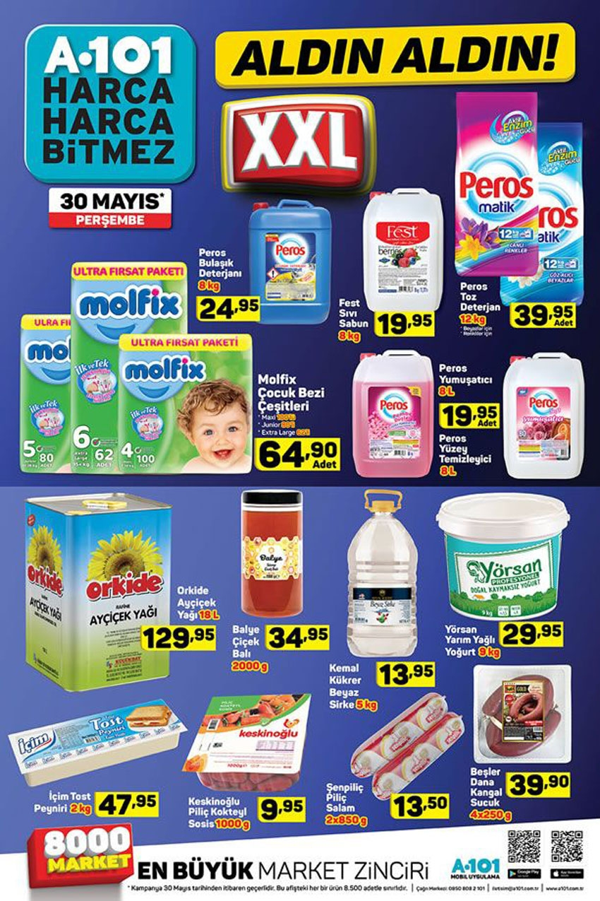 A101 30 Mayıs 2019 Aktüel Ürünler Kataloğu İndirimli Ürünler 11