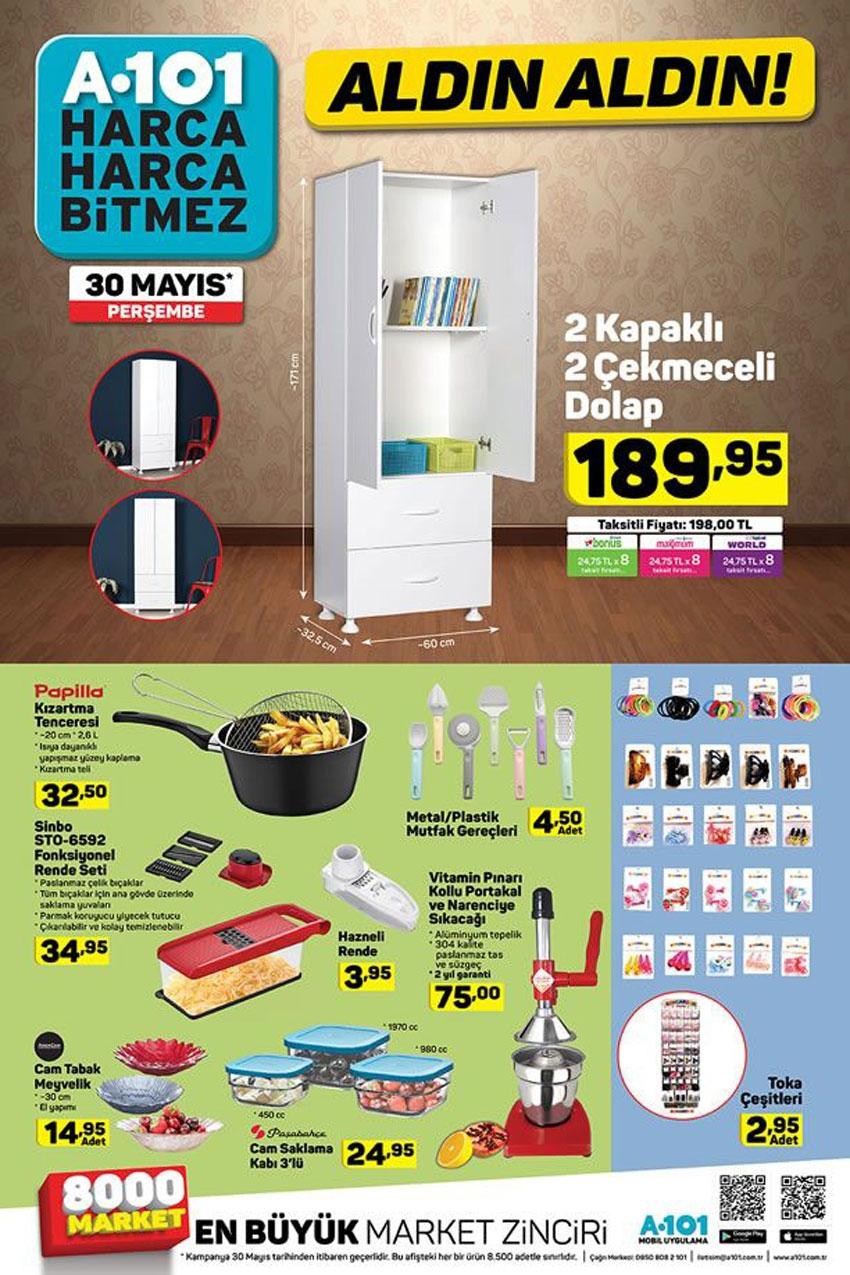 A101 30 Mayıs 2019 Aktüel Ürünler Kataloğu İndirimli Ürünler 5