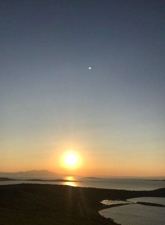 İclal'in Objektifinden Ayvalık Cunta Adasında Gün Batımı 20