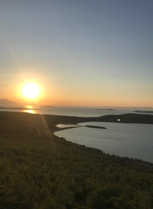 İclal'in Objektifinden Ayvalık Cunta Adasında Gün Batımı 21