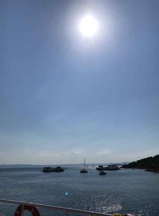 İclal'in Objektifinden Ayvalık Cunta Adasında Gün Batımı 3