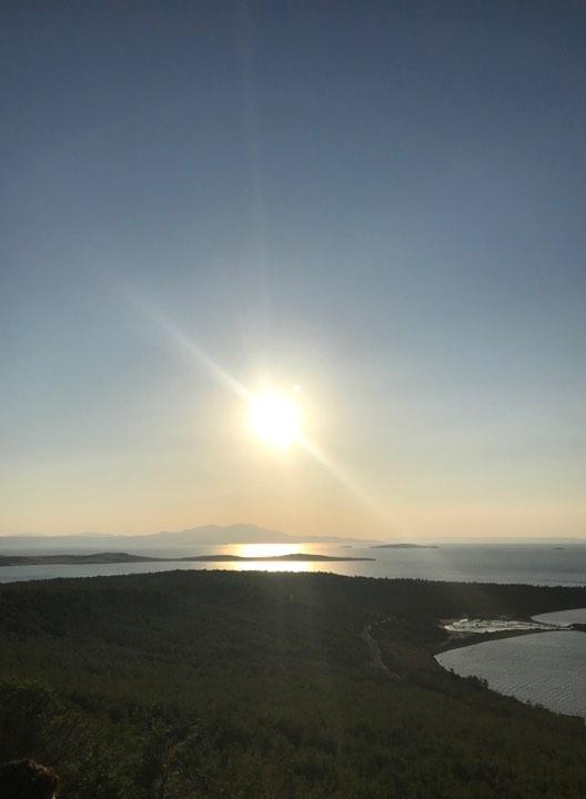 İclal'in Objektifinden Ayvalık Cunta Adasında Gün Batımı 5