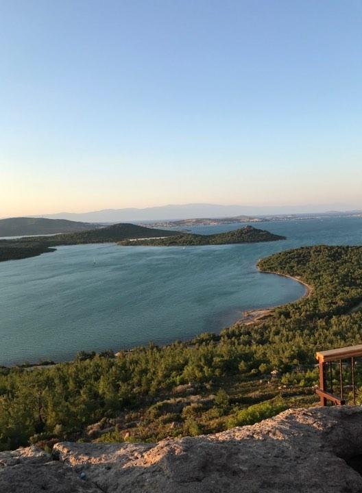 İclal'in Objektifinden Ayvalık Cunta Adasında Gün Batımı 6