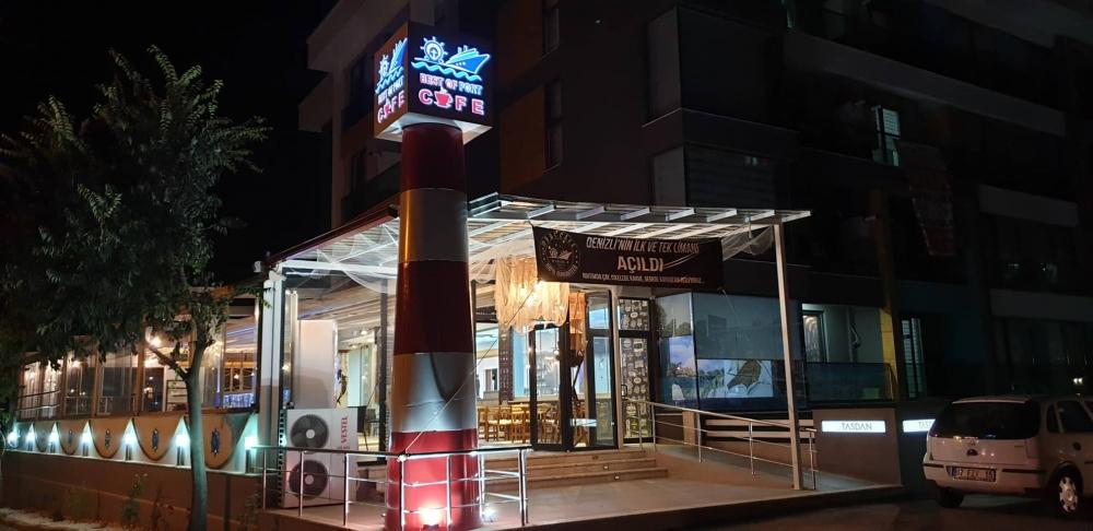Denizli'nin İlk Liman Cafesi  Best Of Port Cafe Açıldı 2