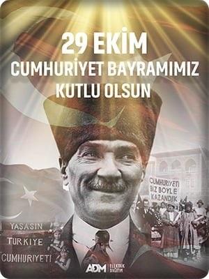 29 Ekim 2020 Cumhuriyet Bayramı 2