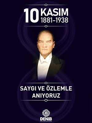 1O Kasın Atatürk'ü Anma Günü 13