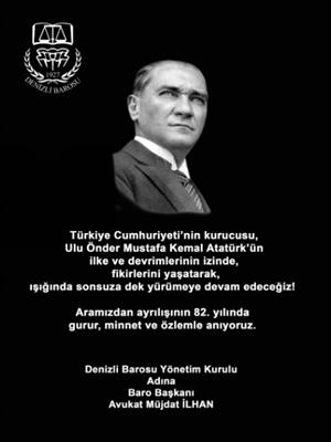 1O Kasın Atatürk'ü Anma Günü 3