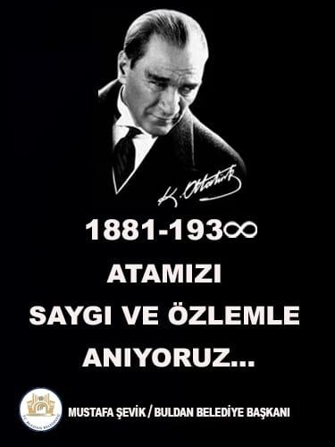 1O Kasın Atatürk'ü Anma Günü 6