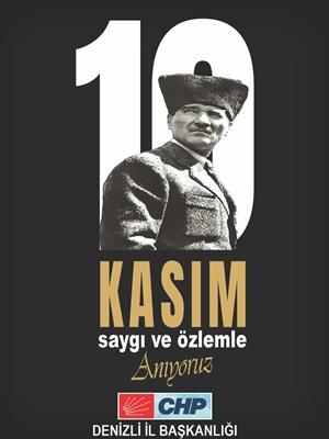 1O Kasın Atatürk'ü Anma Günü 7