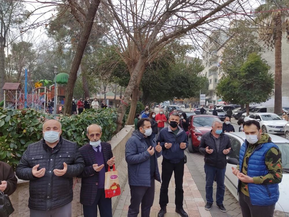 Rayif Kurşunoğlu, İsmail Maral ve ve Mustafa Ergenay için lokma hayrı ya 1