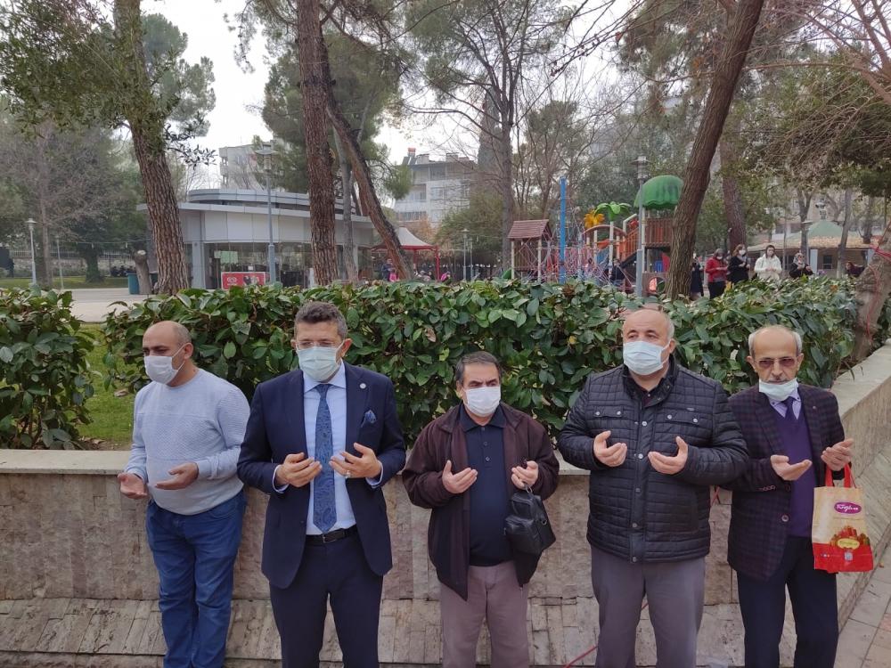 Rayif Kurşunoğlu, İsmail Maral ve ve Mustafa Ergenay için lokma hayrı ya 2