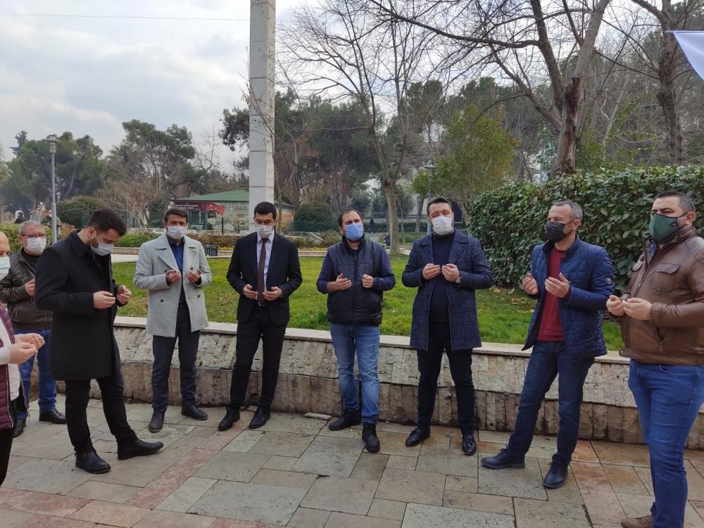 Rayif Kurşunoğlu, İsmail Maral ve ve Mustafa Ergenay için lokma hayrı ya 4