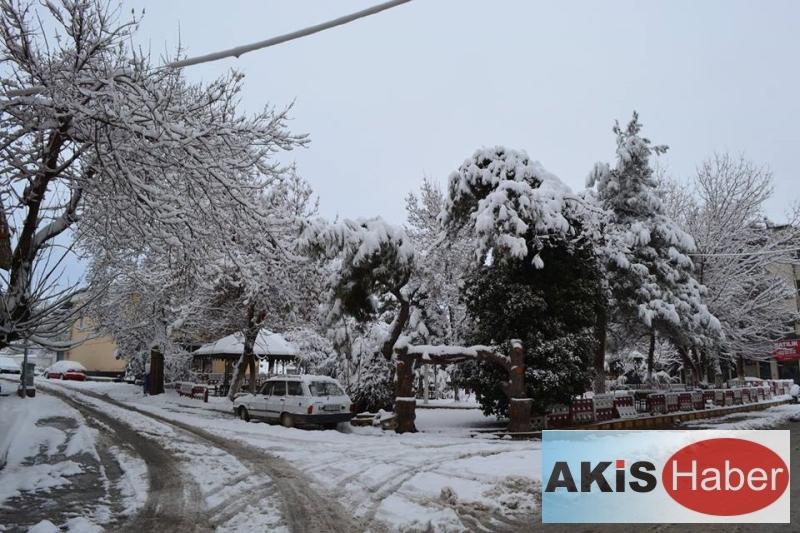 Dazkırı'da Kar Manzaraları 4