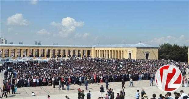 20 bin ülkücü Anıtkabir'de 6