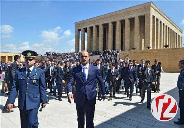 20 bin ülkücü Anıtkabir'de 8