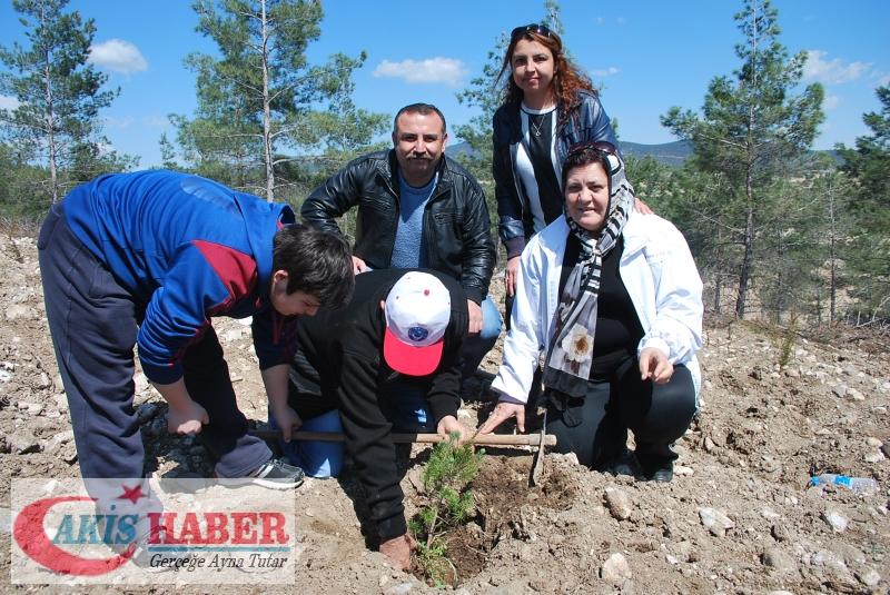 Başbuğ Türkeş Ormanına 300 Fidan Dikildi 18