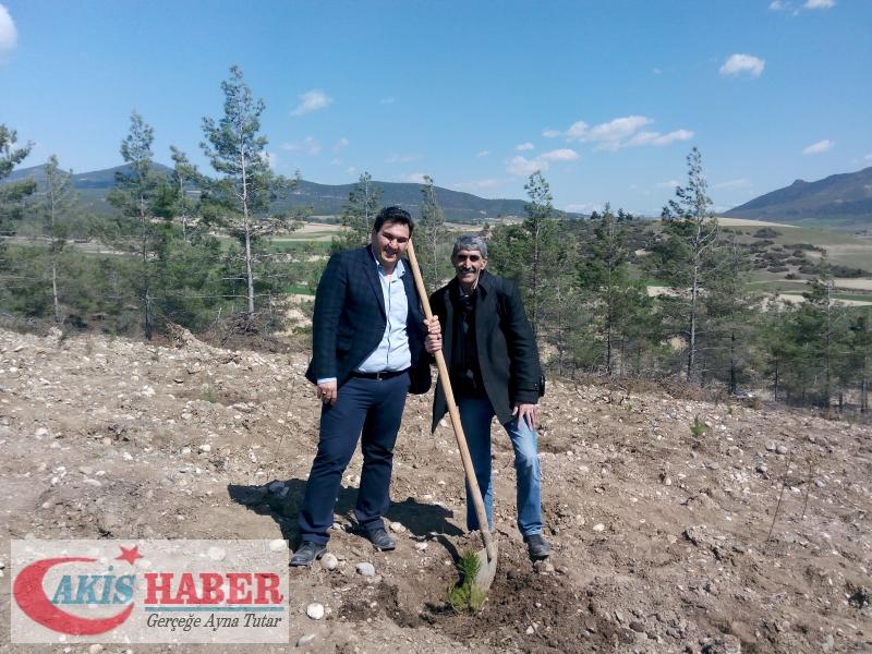 Başbuğ Türkeş Ormanına 300 Fidan Dikildi 32