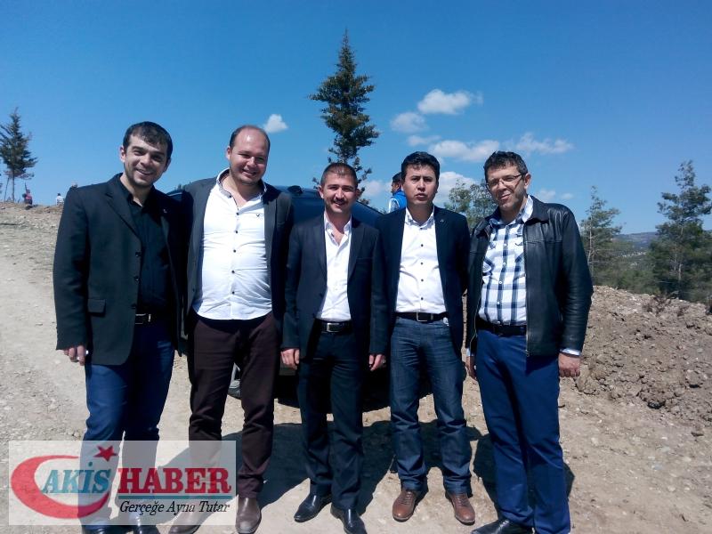 Başbuğ Türkeş Ormanına 300 Fidan Dikildi 48