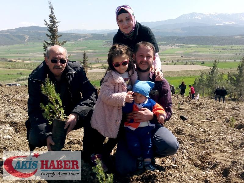 Başbuğ Türkeş Ormanına 300 Fidan Dikildi 55