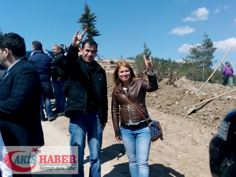 Başbuğ Türkeş Ormanına 300 Fidan Dikildi 8