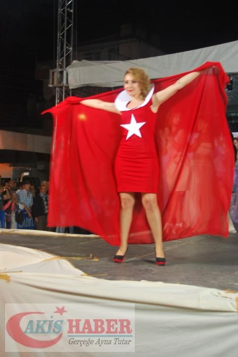 Kızılcabölük Festivaline Bayrağımız Damgasını Vurdu 12