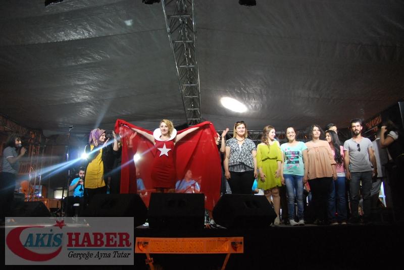 Kızılcabölük Festivaline Bayrağımız Damgasını Vurdu 17