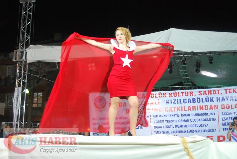 Kızılcabölük Festivaline Bayrağımız Damgasını Vurdu 23