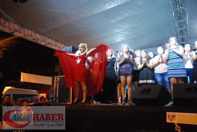 Kızılcabölük Festivaline Bayrağımız Damgasını Vurdu 30