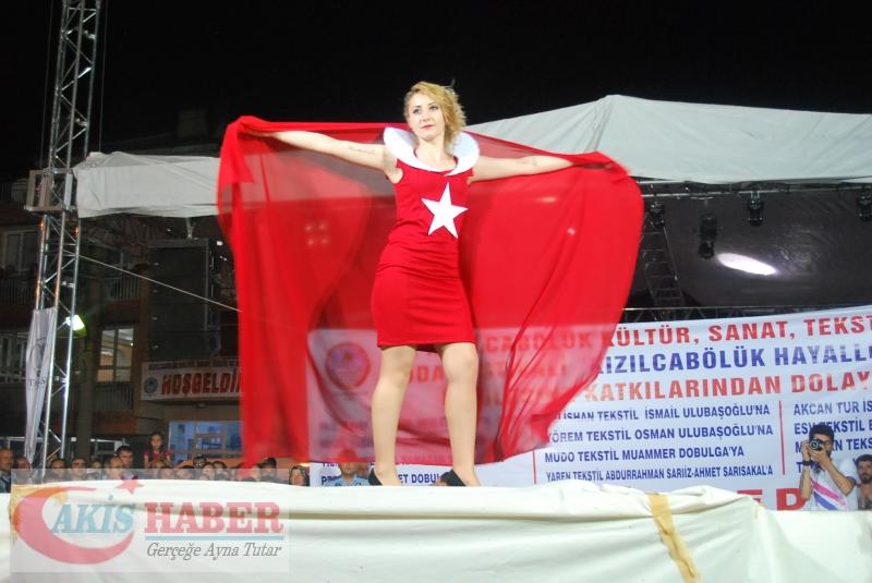 Kızılcabölük Festivaline Bayrağımız Damgasını Vurdu 33