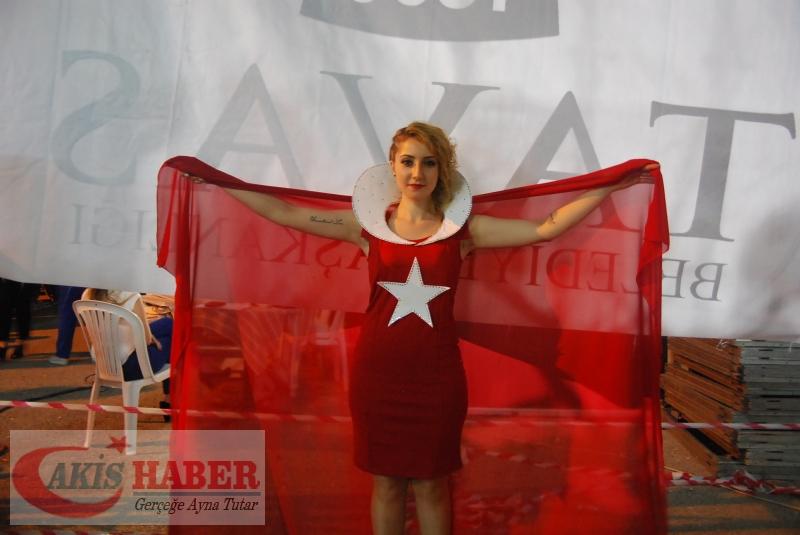 Kızılcabölük Festivaline Bayrağımız Damgasını Vurdu 36