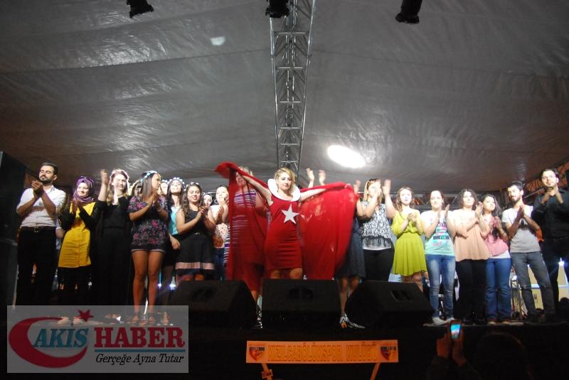 Kızılcabölük Festivaline Bayrağımız Damgasını Vurdu 37