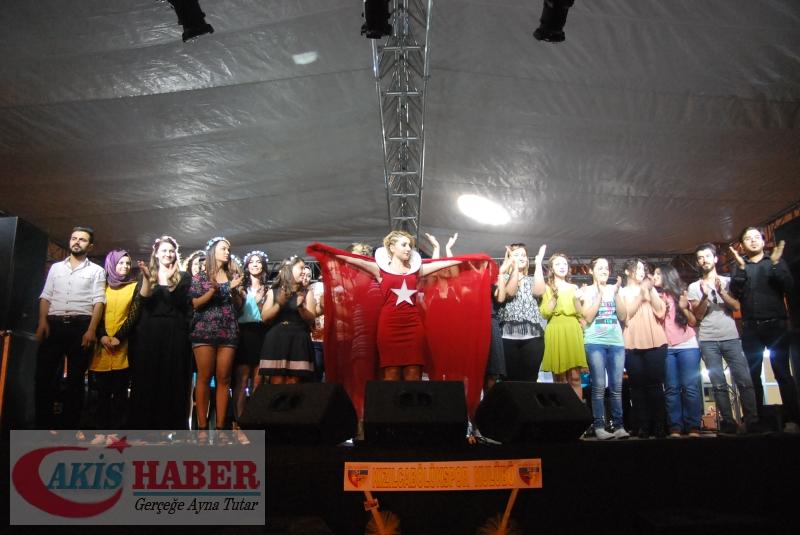 Kızılcabölük Festivaline Bayrağımız Damgasını Vurdu 43