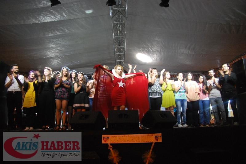 Kızılcabölük Festivaline Bayrağımız Damgasını Vurdu 5